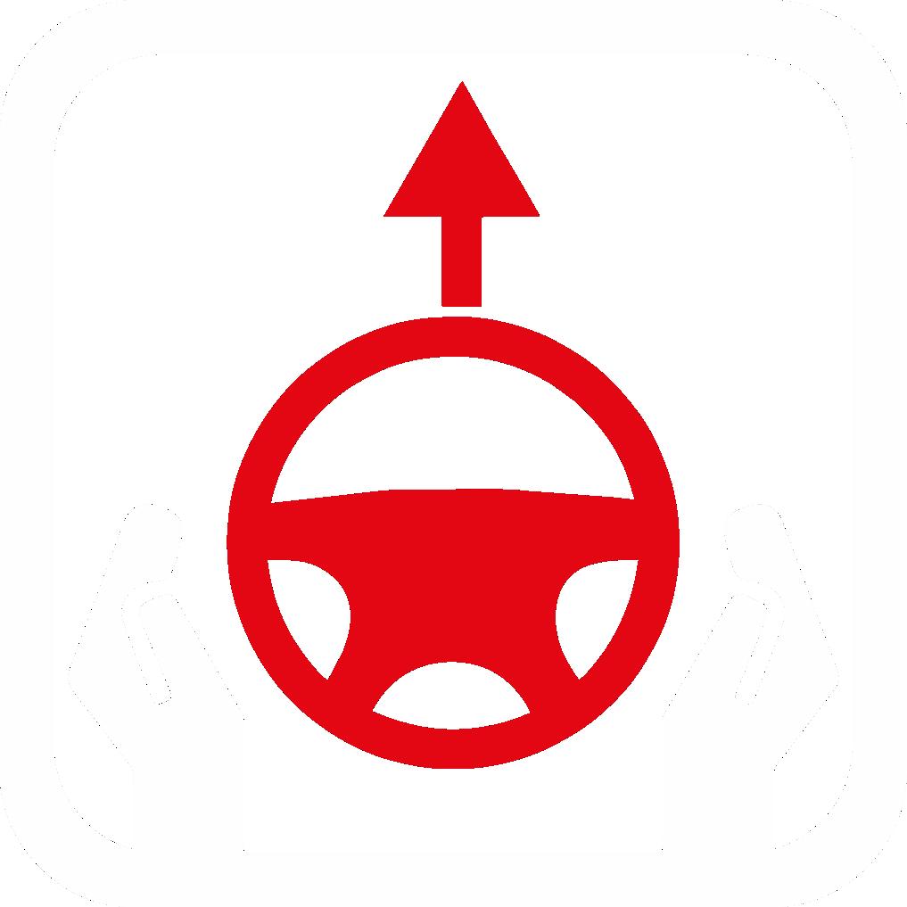 Lenkrad gerade / nicht lenken Räder gerade